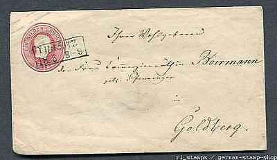 German States - Preussen : Better classic cover - 1 Silbergroschen - used