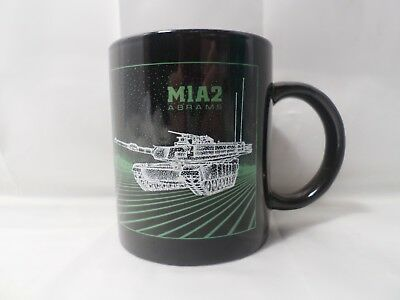 MIA2 ABRAMS BLACKBIRD Military Coffee Mug RARE