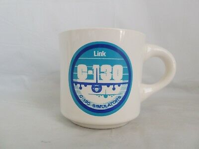 C-130 Link Simulators Rare Military Coffee Mug