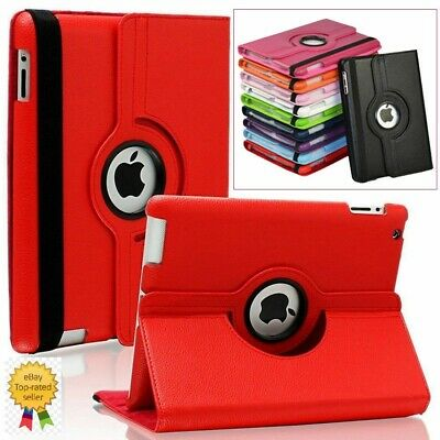 New Luxury 360 Degree Rotating Case For Apple iPad 2/3/4 (A1396/A1416/A1458)