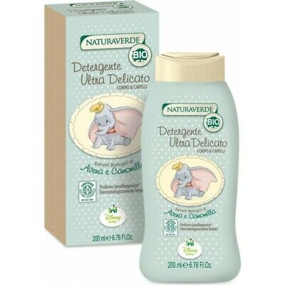NATURAVERDE Bio Cleansing Gentle Body And Hair 200 ml