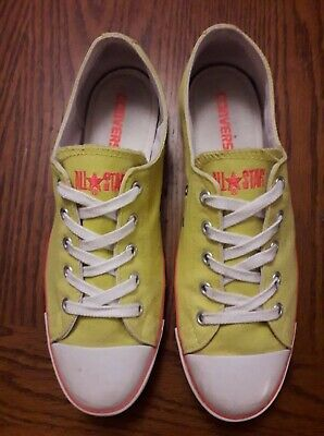 9b3a36e205e3b CONVERSE ALL STAR jaune pointure 39 coupe Slim - EUR 10