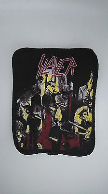 Slayer reign in blood VERY RARE vintage sew On patch music