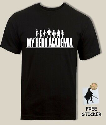 My Hero Academia T shirt Midoriya All Might Todoroki NEW Mens KIDS Boys Tee Top