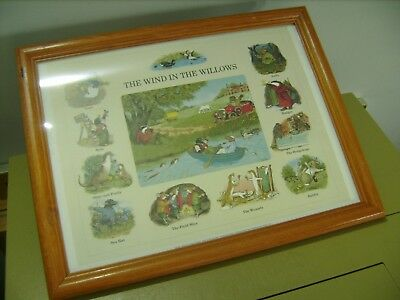 Wind in the Willows. Art Print. Melanie Cargill. Vintage.1993.
