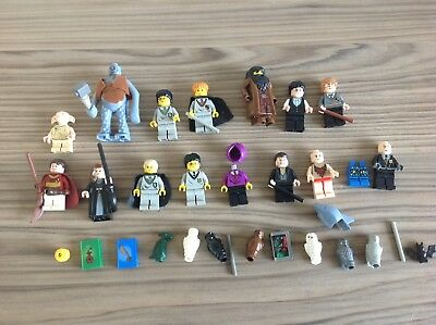 Harry Potter Genuine Lego Minifigures Collection Victor Krum Troll Dobby Owls