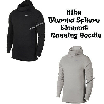 c1d83d1f Nike New Men's Therma Sphere Element Fleece Running Top Hoodie Dri-Fit Nwt  $90.