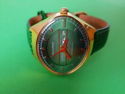 Very Rare CHAIKA ☆Stadium☆ Soviet Men's Automatic Mechanical watch c.1970's