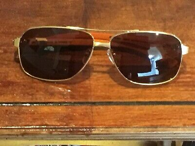 d2f96b9adfeca CARTIER EDITION SANTOS Dumont T8200863 (92570) Brown Mirrored Wood ...