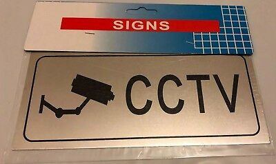 3 X New Household Security Warning Sign, CCTV, BEWARE OF THE DOGS, NO JUNK MAIL.