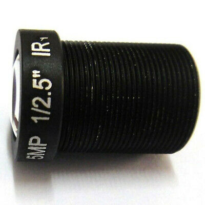 Surveillance Lens For IP CCTV HD 5mp 16mm Board M12x0.5 MTV View 50m 20° Angle