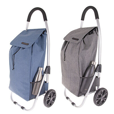 D.line Urban Aluminium Foldable Shopping Trolley Collapsible Cart Bag