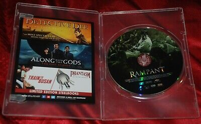 RAMPANT Official Well-Go USA DVD - just opened - Chang-gwol