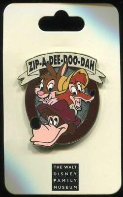 WDFM Family Museum Song of the South Splash Mountain Disney Pin 87409