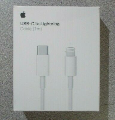 Apple MK0X2AM/A USB-C to Lightning Cable (1m) Model 1656 Genuine Apple Product