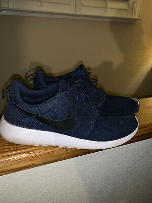 huge discount 680c5 b3a85 MEN'S NIKE ROSHE One Navy Blue Running Shoes(9) 511881 405