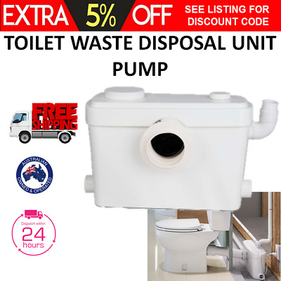 Automatic Macerator Sewerage Pump Toilet Water Waste Poo Faeces Disposal Marine