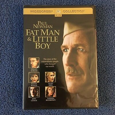 Fat Man and Little Boy (DVD, 2004, Widescreen) Brand New Sealed, Old Stickers