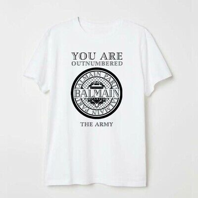 f872becd Balmain66 You are Outnumbered Logo Men Woman Unisex T Shirt Custom Tee