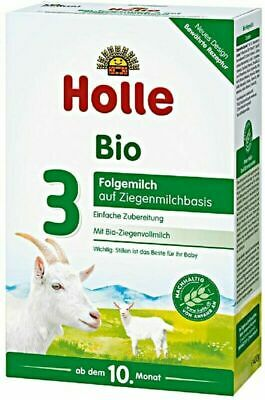 Holle Organic Goat Milk Formula Stage 3 400g Priority Mail 4 Boxes 4/2020