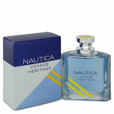 Nautica Voyage Heritage by Nautica 3.4 oz EDT Cologne Spray for Men New in Box