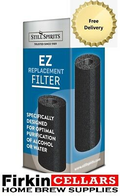 Still Spirits EZ Filter Replacement Carbon Cartridge Home Brew Water Distilling
