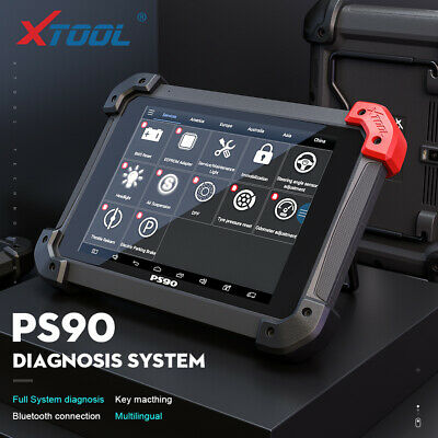 XTool PS90 OBDII IMMO EEPROM Auto Progarmmer Odometer Diagnostic Scanner Tool