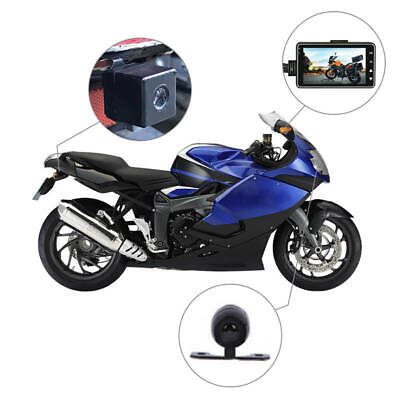 Waterproof Motorcycle with Specialized Dual-track Front Rear Recorder Dual-track