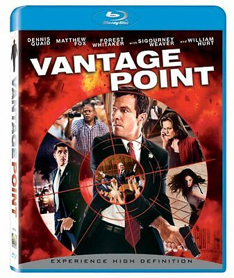 Brand new & factory sealed- Vantage Point (BLU-RAY Disc, 2008) * Free shipping