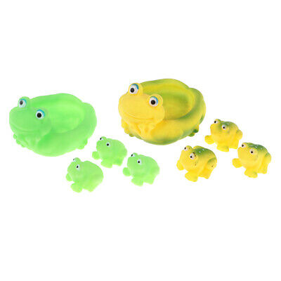 Bath Toy 4 Frogs Swimming Frog For Kids Water Fun Gift Pre-School OFFER