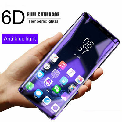 Full Cover Curved Tempered Glass For Samsung Galaxy Note 9 Screen Protector Lot
