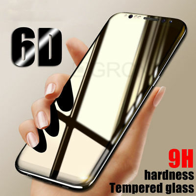6D Curved Tempered Glass Screen Protector for Samsung Galaxy Note 9 / Note 8 Lot