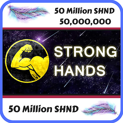 12,000,000 Strong Hands (SHND) CRYPTO MINING-CONTRACT (12 Million SHND)