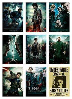HARRY POTTER MOVIE POSTER PRINT (hp1) - VARIOUS SIZE OPTIONS