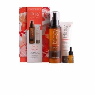TRILOGY Body Besties Body Celebration Set 3 Pack