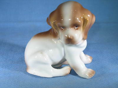 "Vintage ERPHILA Germany #4020 4"" Ceramic Dog Figurine"