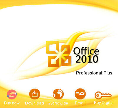 Genuine Office Professional Plus 2010 Code Download Digital