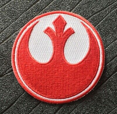 STAR WARS rebel alliance MOVIE embroidered Iron On Patch Sew On Badge A269
