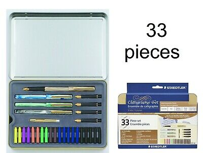 Calligraphy Pen Set Starter Kit Letters Ink Cartridge Practice Pad Included Gift