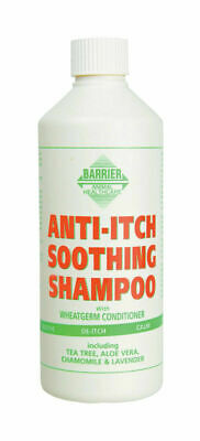 Barrier Anti-Itch Soothing Shampoo - Horses Sweet Itch Shampoo - 500ml & 1 Litre