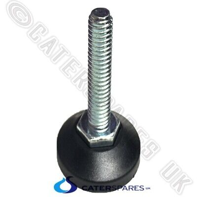 M10 Threaded Feet / Foot For Catering Prep Work Bench Table Legs Adjustable