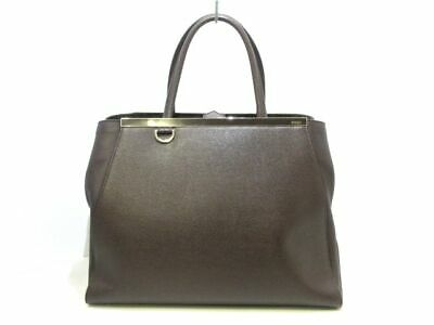 FENDI BLUE VITELLO Elite Petite 2Jours Tote Bag -  590.00  f390969e8c041