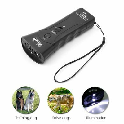 Chaser Stop Aggressive Animal Attacks Repeller Flashlight Hot Ultrasonic Dog