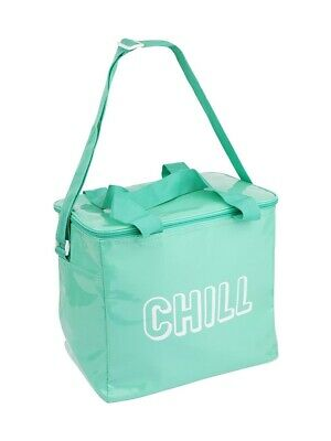 New Sunnylife Cooler Bag Large Neon Turquoise Neotur
