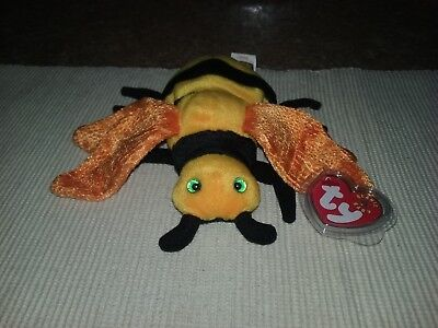 TY BEANIE BABY ~ BUZZIE the Bee ~ MINT with MINT TAGS ~ RETIRED ... 42a83d94aadf