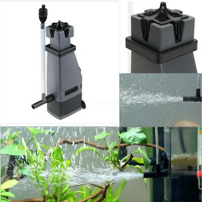 3W 300L/H Oil Surface Skimmer Aquarium Fish Tank Mini Filter Plant Freshwater !