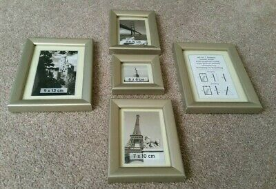 Set of 5 Picture Frames NEW