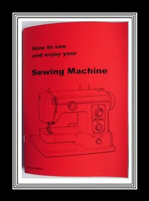 Model 865 - XL - 700 Jones Brother  sewing machine instruction Manual Booklet