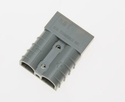 50 Amp Grey Battery Power Connector and 12-10AWG Terminals