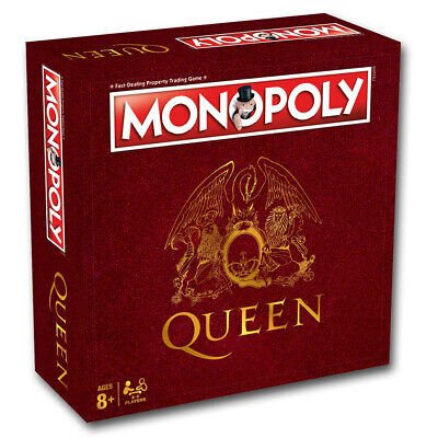 Monopoly Queen Board Game NEW